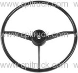 1957-1959 STEERING WHEEL BLACK CHEVROLET GMC TRUCK