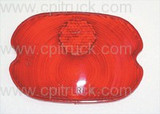 TAIL LIGHT LENS GM PANEL CHEVROLET TRUCK 1947 - 1956