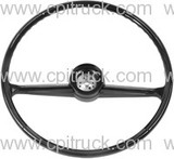 1960-1966 STEERING WHEEL BLACK CHEVROLET GMC TRUCK
