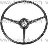 1967-1968 STEERING WHEEL BLACK CHEVROLET GMC TRUCK