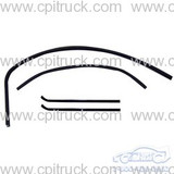 1960-1963 WINDOW CHANNEL KIT WITH FRAMELESS GLASS DIVISION BAR WINDOW WEATHER STRIPS AND CHANNEL CHEVROLET GMC TRUCK