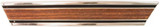 1969-1972 BED MOLDING LOWER REAR LH WOOD SHORT BED  CHEVROLET GMC TRUCK