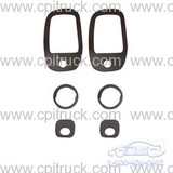 1967-1972 DOOR HANDLE AND LOCK GASKET SET CHEVROLET GMC TRUCK