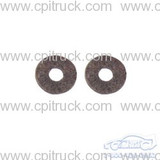 DOOR CRANK FELT SEAL 4 PIECE CHEVROLET GMC TRUCK 1960 - 1966