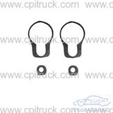 1960-1966 DOOR HANDLE AND LOCK GASKET SET CHEVROLET GMC TRUCK
