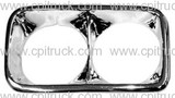 1969-1972 HEADLIGHT BEZEL CHROME LH GMC CHEVROLET TRUCK
