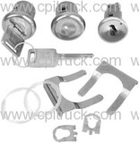 1967-1972 IGNITION LOCK AND DOOR LOCK KIT LATER CHEVROLET GMC TRUCK