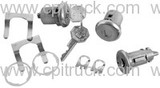 1967-1968 IGNITION LOCK AND DOOR LOCK KIT ORIGINAL CHEVROLET GMC TRUCK