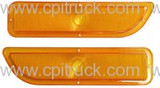 PARKING LIGHT LENS AMBER GMC TRUCK 1962 - 1966
