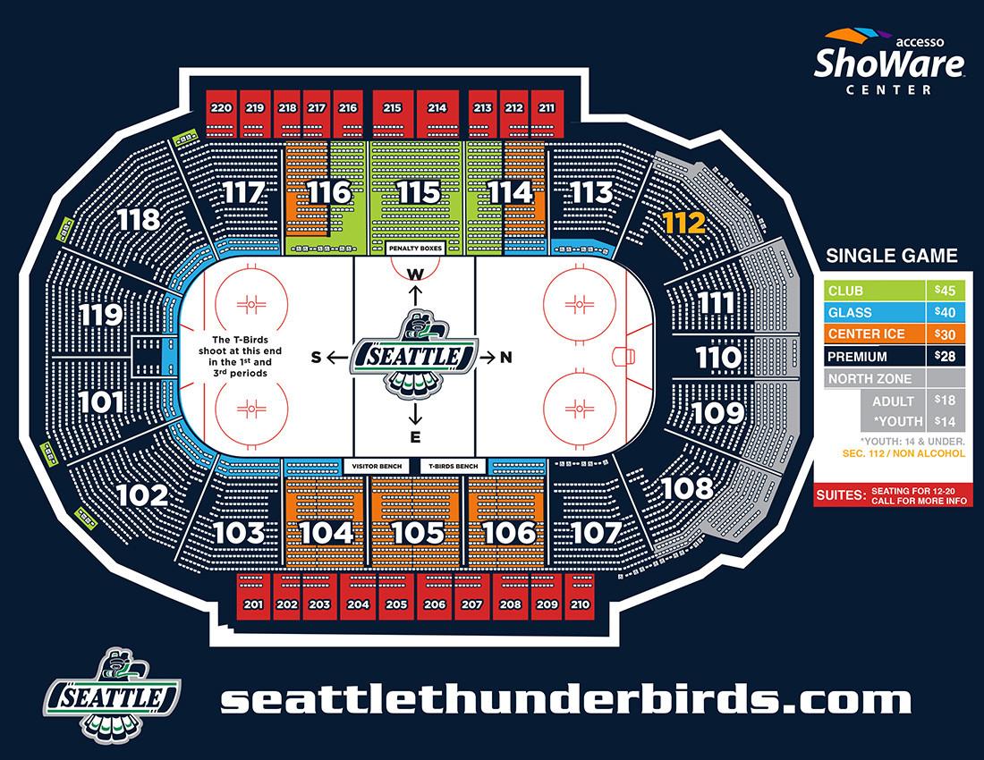 Premium Seattle Thunderbirds Hockey Game Voucher 28