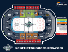 North Zone - Seattle Thunderbirds Hockey Game Voucher-$18