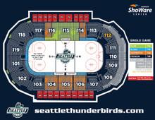 North Zone - Seattle Thunderbirds Hockey Game Voucher-$18