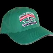 WHL CHAMPIONS ADJUSTABLE HAT GREEN