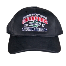 WHL CHAMPIONS ADJUSTABLE HAT BLACK