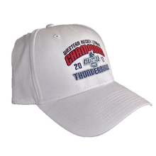 NEW ERA WHL CHAMPIONS FLEX FIT HAT WHITE