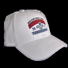 NEW ERA WHL CHAMPIONS FLEX FIT HAT WHITE