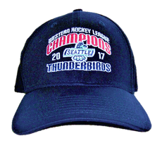 NEW ERA WHL CHAMPIONS FLEX FIT HAT NAVY
