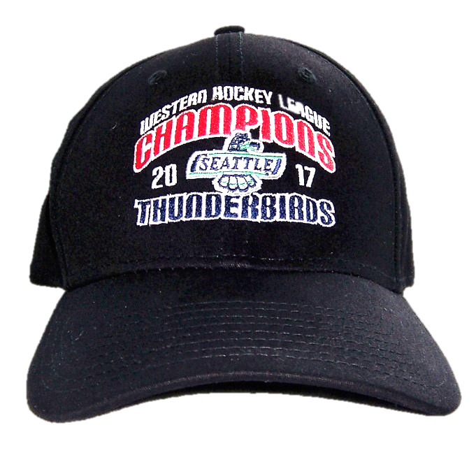 8fcfc546cc04a NEW ERA WHL CHAMPIONS FLEX FIT HAT BLACK - 2017 WHL CHAMPION SEATTLE ...