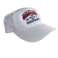 WHL CHAMPIONS ADJUSTABLE HAT WHITE