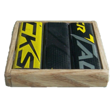 HOCKEY STICK COASTERS-  (SET OF TWO)