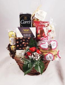 Season's Greetings Gift Basket