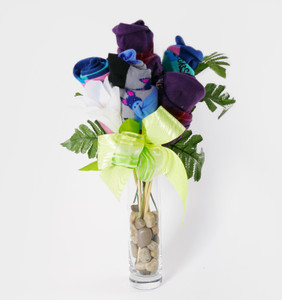 Dad's Day Sock Bouquet (three pair)