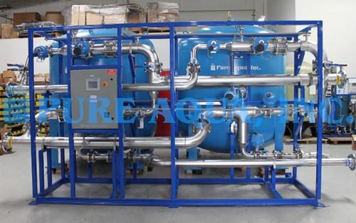 Sistema Industrial de Filtragem Montado em Suporte 120 GPM - EUA
