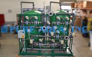 Sistema de Filtragem Multimídia para Remoção de Ferro com Suporte Montado 400 GPM – EUA