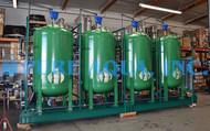 Sistema de Filtragem Quádrupla Montado em Suporte 300 GPM - Kansas, EUA