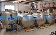 Filtros Multimídia de Aço Inoxidável com Retrolavagem Automática 2 x 330 GPM - Abu Dhabi