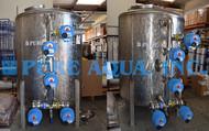 Filtro de Carvão Sanitizável a Vapor 80 GPM - EAU