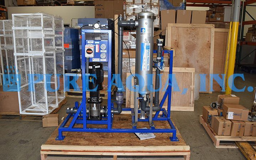 Sistema de Filtragem de Água Superficial 50 GPM - Belize