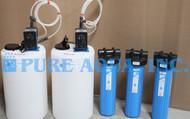 Sistemas de Filtragem Industrial de Aço Inoxidável 17 GPM - Bolívia
