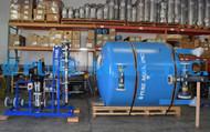 Sistema de Filtragem de Água Superficial para a Água da Lagoa 240 GPM - EUA
