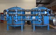 Filtros Industriais de Multimídia de Dupla Alternação 2 x 385 GPM - EUA