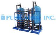 Sistema de Filtração Multimídia de Água do Mar 144,000 GPD - EUA