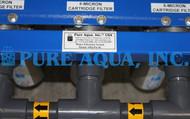 Filtro de Cartucho de Armazenamento em Aço Inoxidável com Ultravioleta 2 x 7,200 GPD, 17,000 GPD, 46,000 GPD – Kuwait