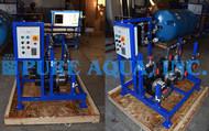 Sistema de Osmose Inversa / Deionização Manual por Troca Iónica 1,800 GPD - EUA