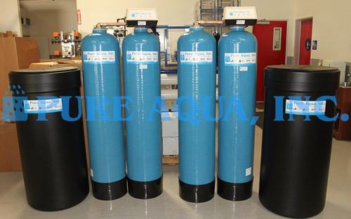 Descalcificador Duplo Alternado de Água - EUA