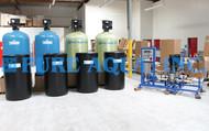 Descalcificador Duplo Alternado de Água 115,200 GPD - Iraque