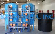 Descalcificador Duplo Alternado de Água 223,200 GPD - Arábia Saudita