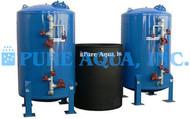 Descalcificador Duplo Alternado de Água 235,000 GPD - República Dominicana