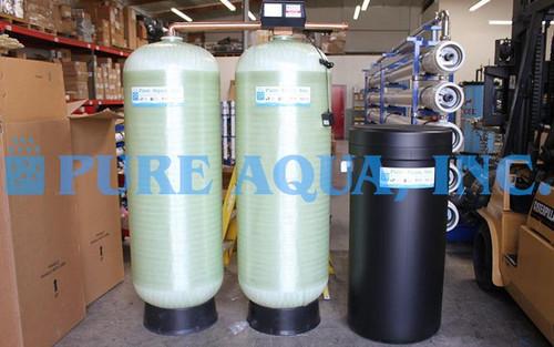 Sistema Duplo Alternado de Descalcificação de Água 56,000 GPD - Costa Rica