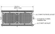 Membrana HSM1500-ES da HYDRAsub