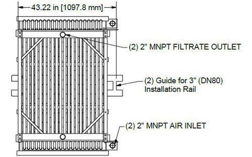Membrana MAX HSMM800-ES da HYDRAsub