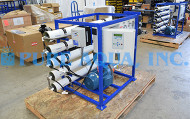 Sistemas Comerciais de Watermaker RO para Água Potável 2 x 4.700 GPD - Malásia