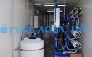 Sistema de Osmose Reversa em Água para Contêineres de Poço 57.000 GPD - EUA