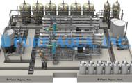 Planta de Dessalinização Industrial com Troca Iónica 132,000 GPD – Omã
