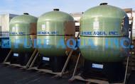 Filtro de Carvão Activado Operado Manualmente 3X 175 GPM - Arábia Saudita