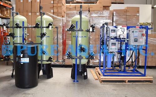 Sistema de Osmose Reversa da Água da Torneira à Prova de Explosão 12,000 GPD - EUA